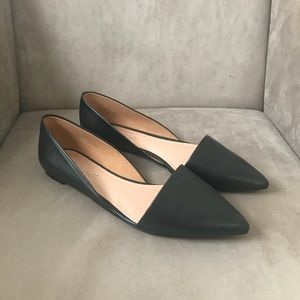 Madewell Lydia Leather Flats Size 7.5